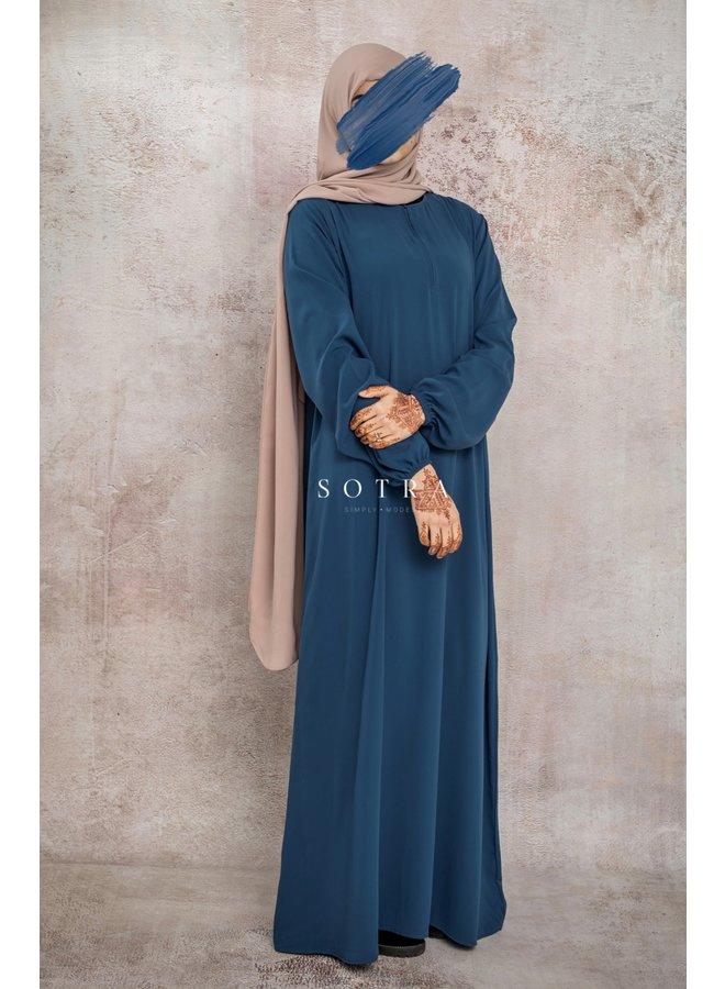 Basic Abaya Mediumblue
