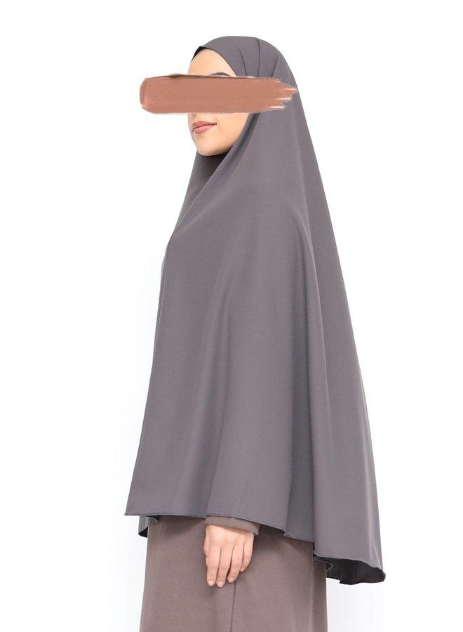 Khimaar -gris foncé