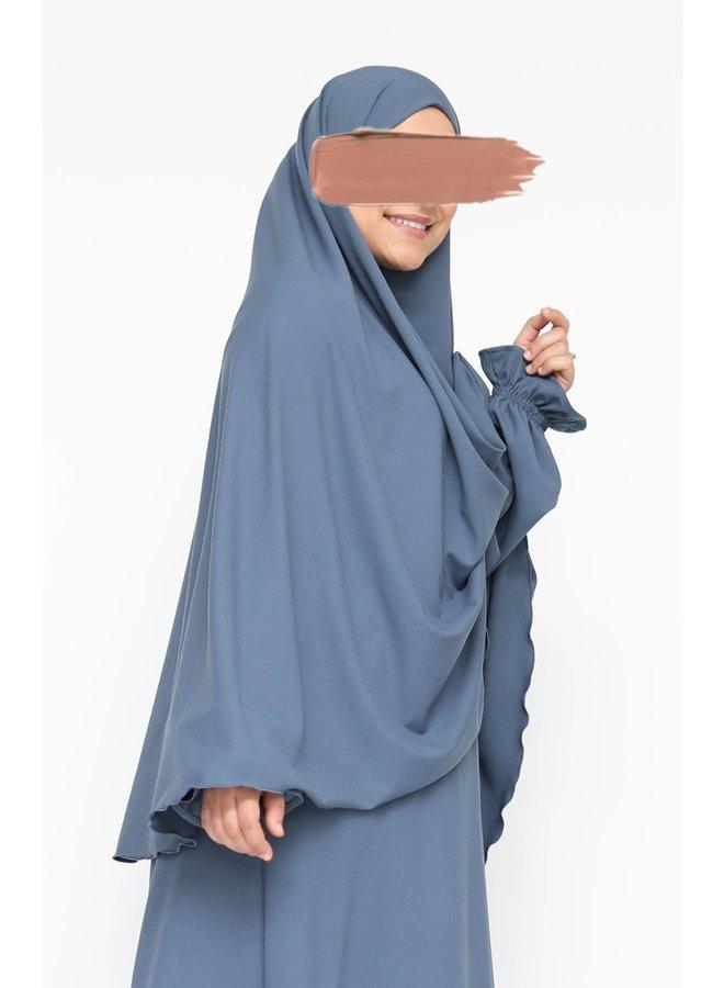 Heupkhimaar  - jeansblauw
