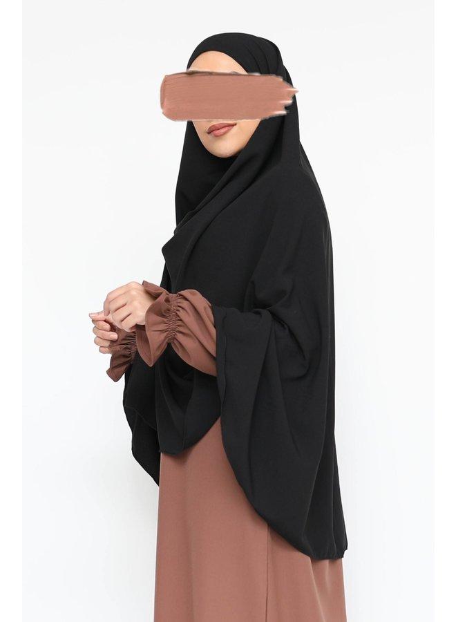 Heupkhimaar  - zwart