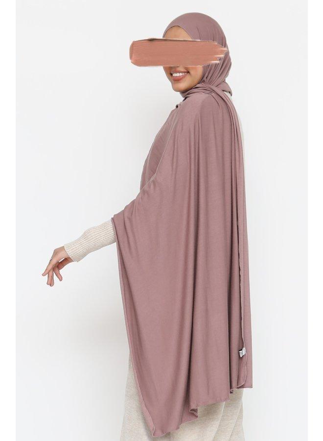 XL Jersey scarf - mauve