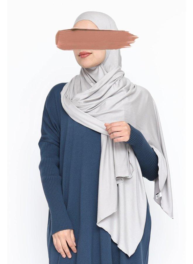 XL Jersey sjaal - klei