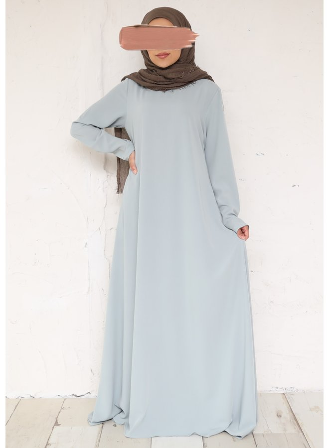 A-line abaya - mint