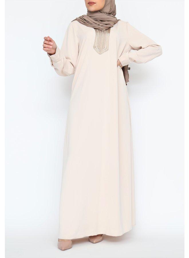 Abaya Ouarda - creme