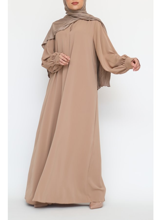 Abaya Malika - camel