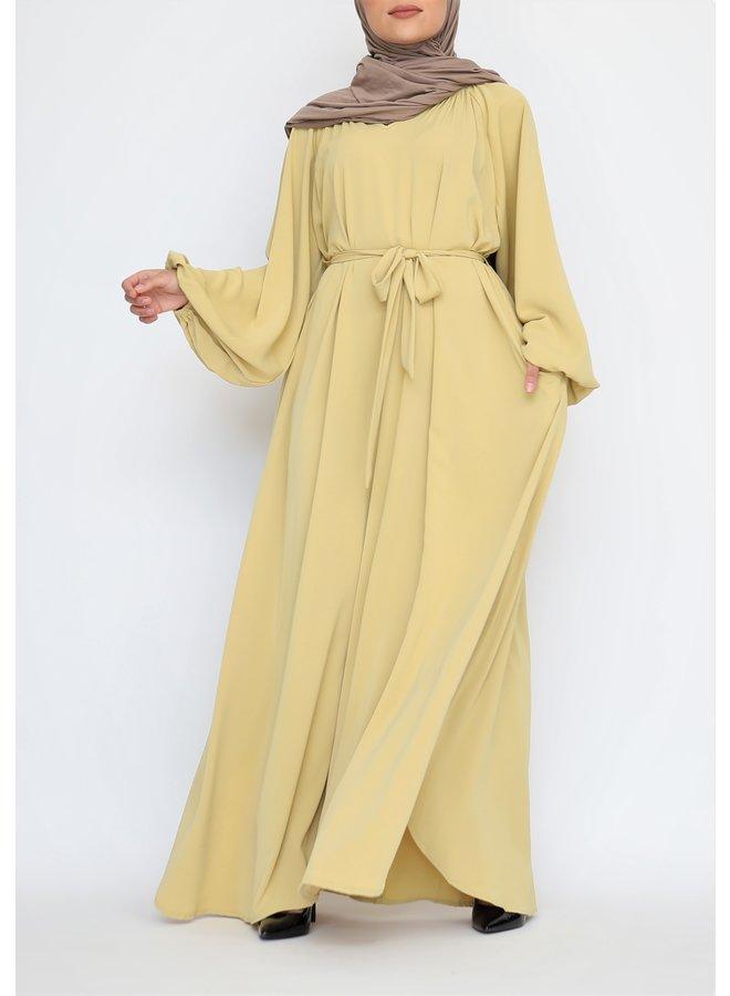 Abaya Amira - yellow