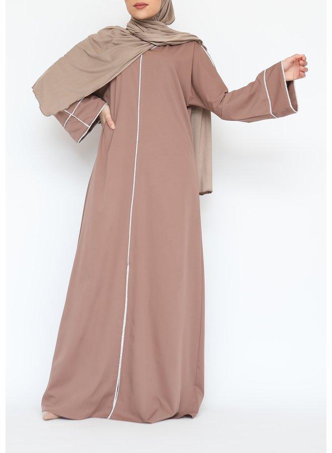 Abaya Diamond - camel