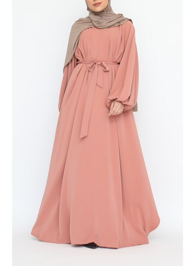Abaya Amira -  peach