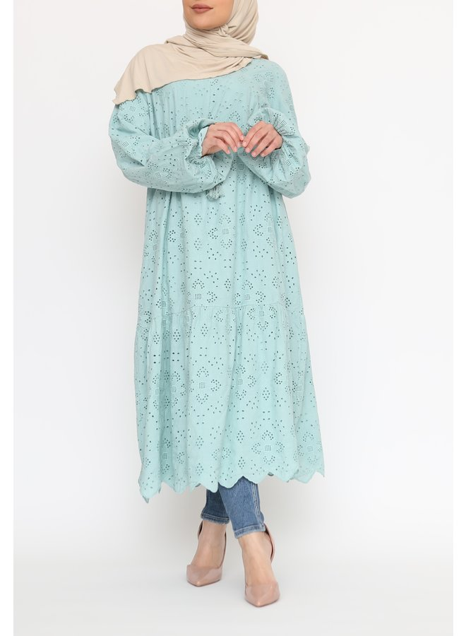 Cotton tunic - mint