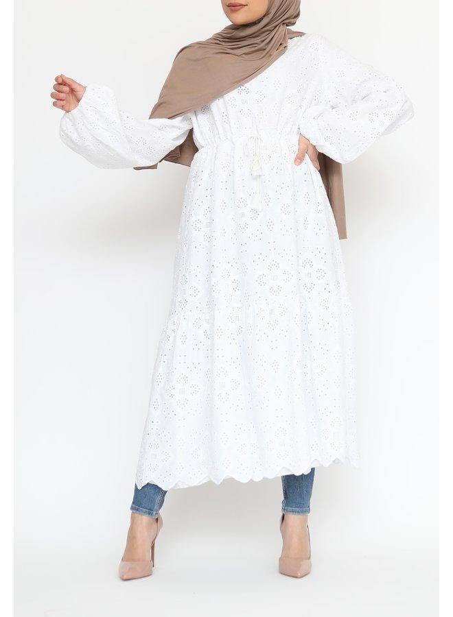 Cotton tunic - white