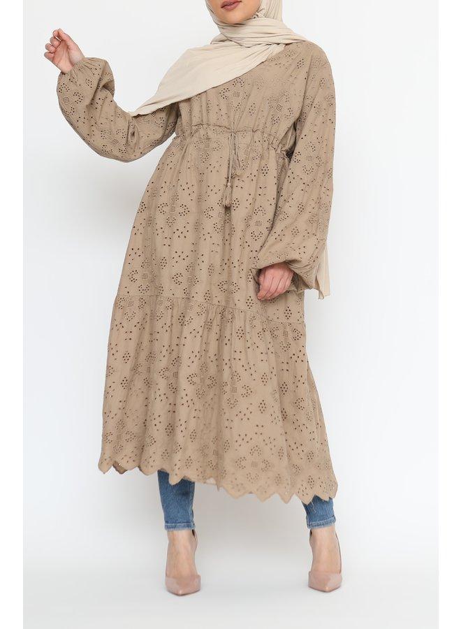 Katoenen tuniek - camel