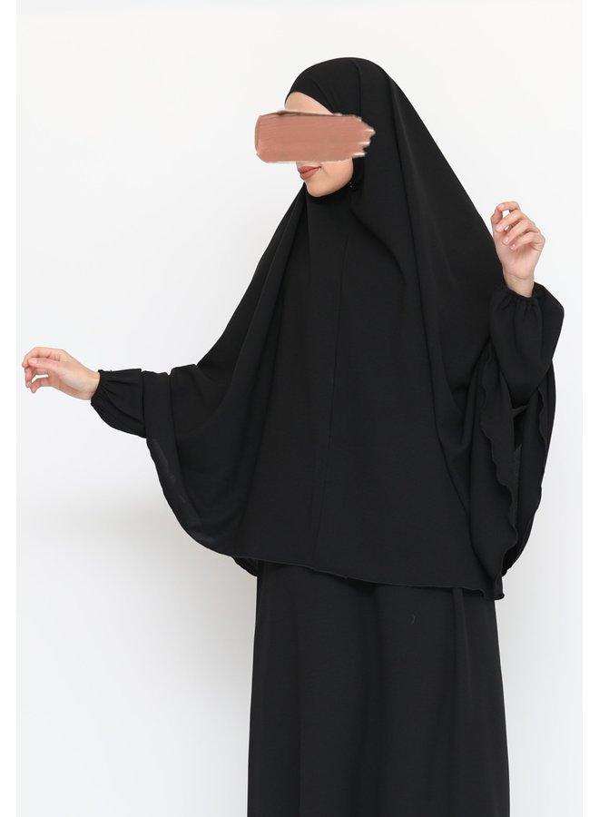 Lightweight Khimaar - Zwart