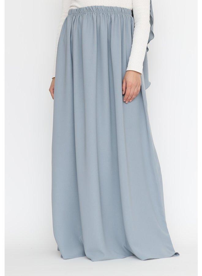 Maxi skirt lightweight - Lightblue