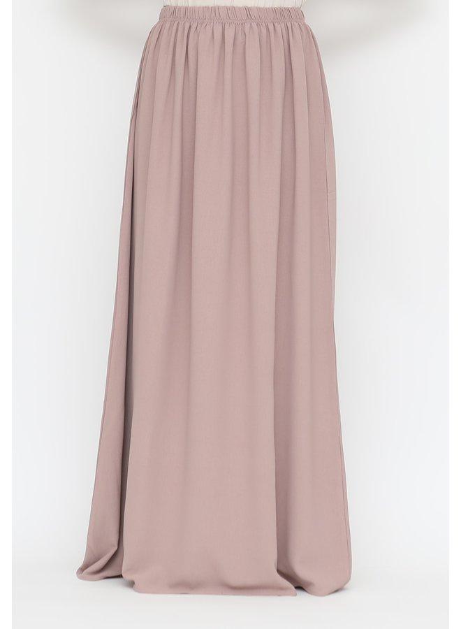 Maxi skirt lightweight - powder