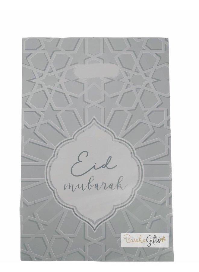 Eid mubarak candybags - silver