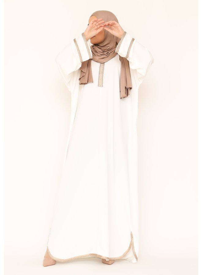 Jellaba Firdaous - white