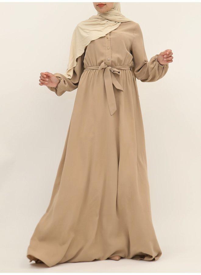 Maxi Abaya - beige