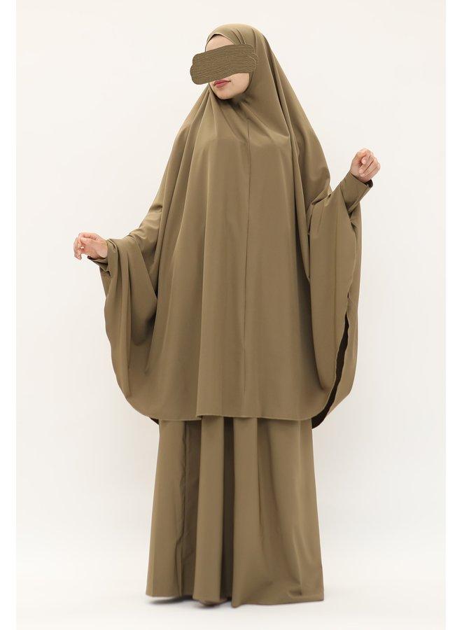 Jilbaab - mocca