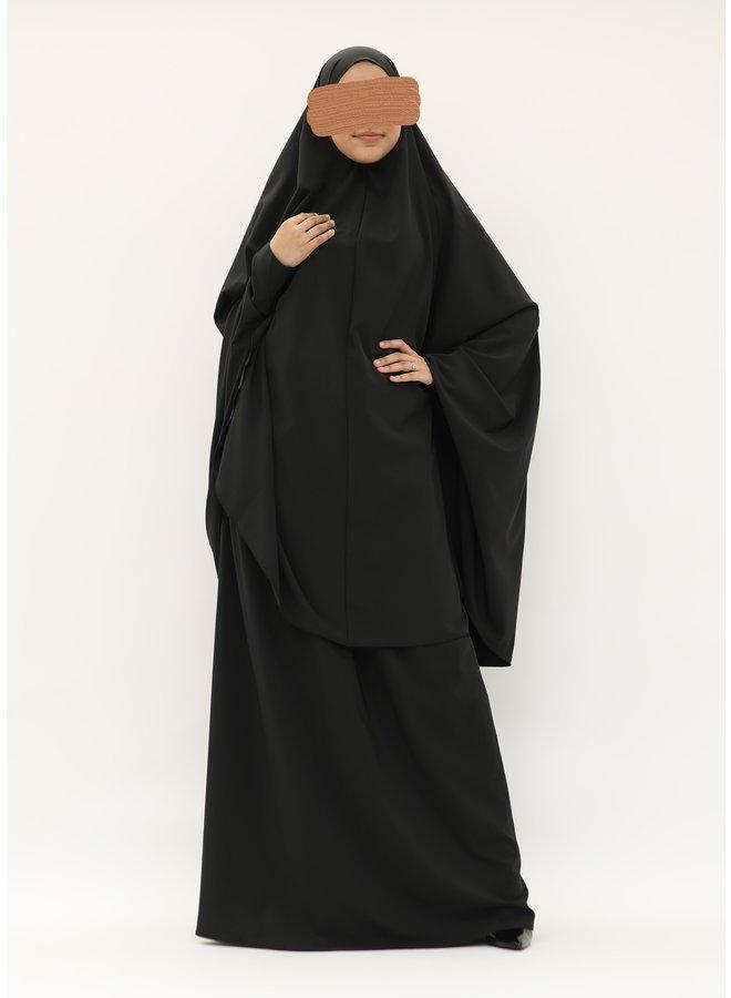 Jilbaab - black