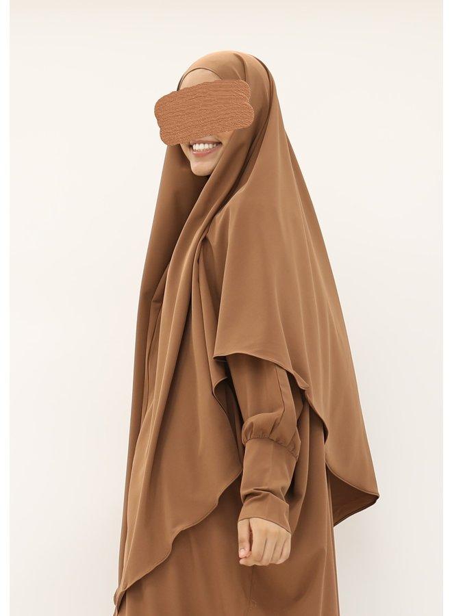Diamond khimaar - camel