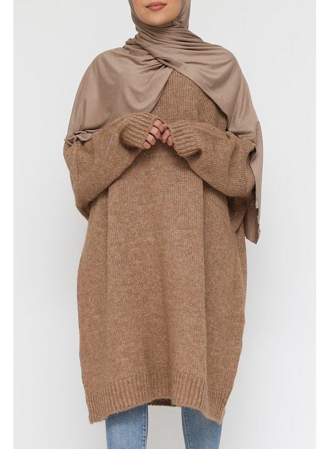 Comfy trui XL -camel