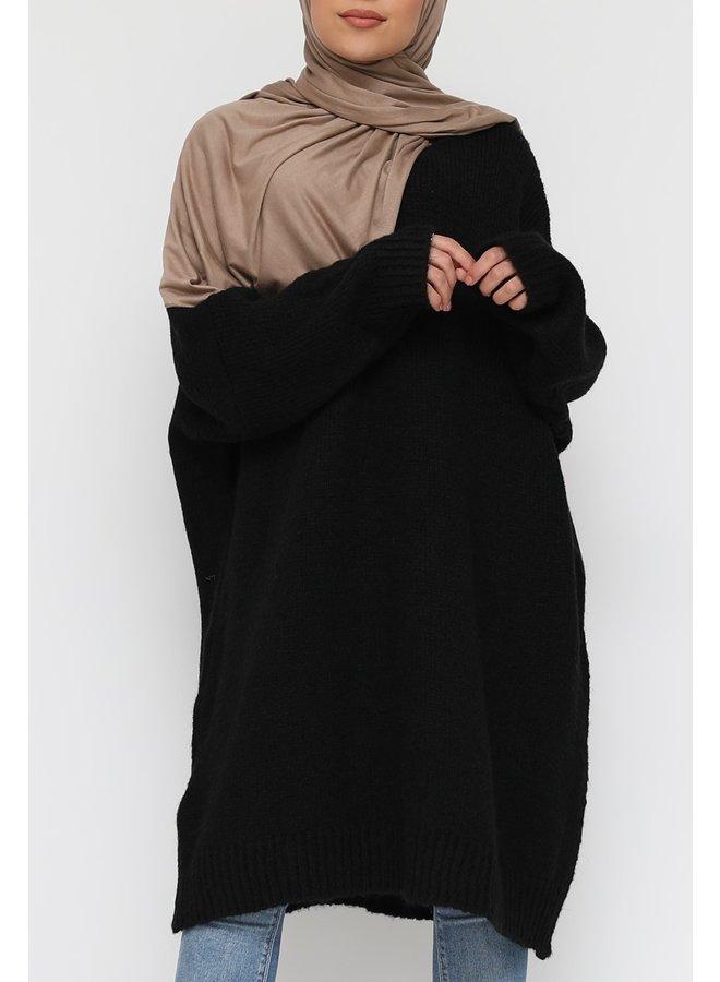 Comfy trui XL -black