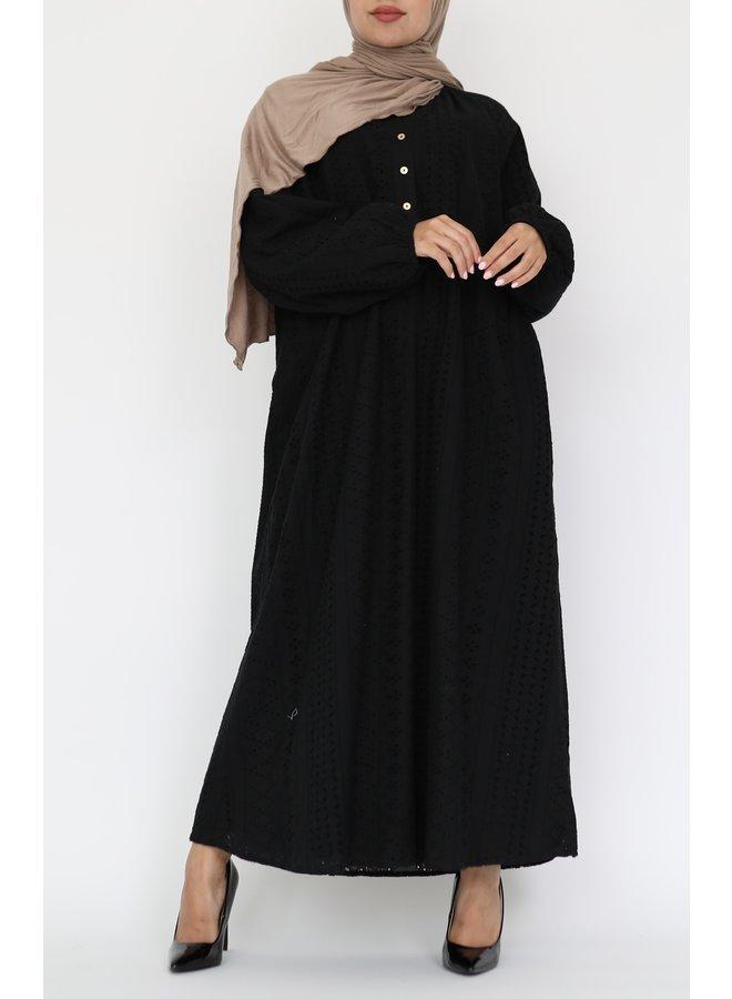 Midi-jurk Zara - zwart