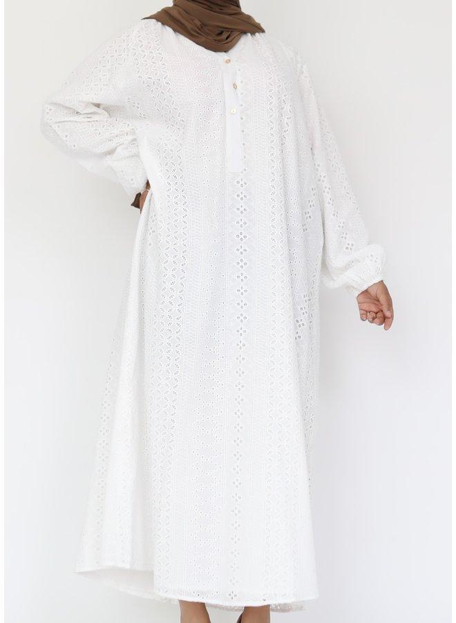 Midi-jurk Zara - wit