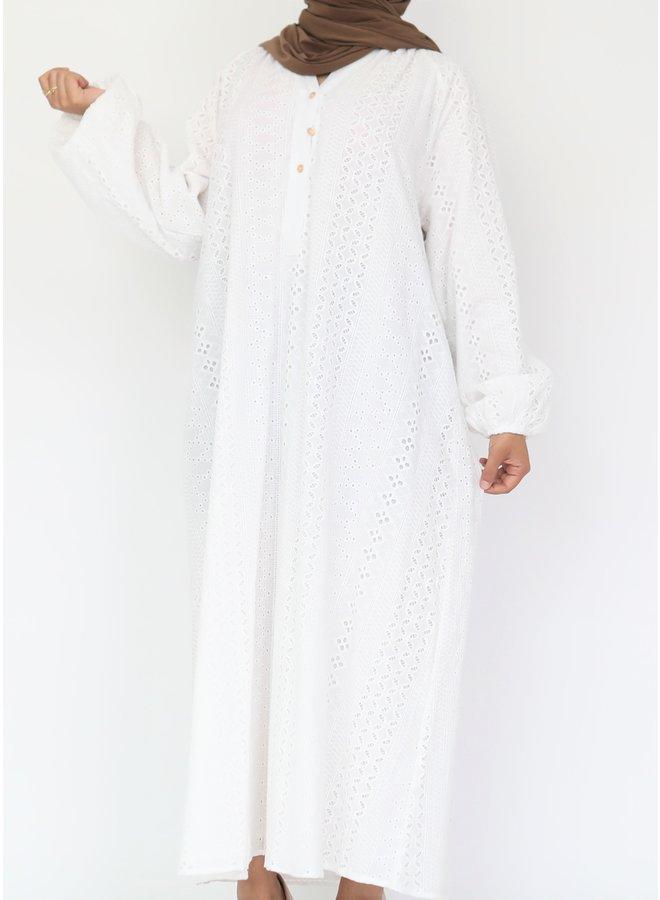 Midi-jurk Zara - white