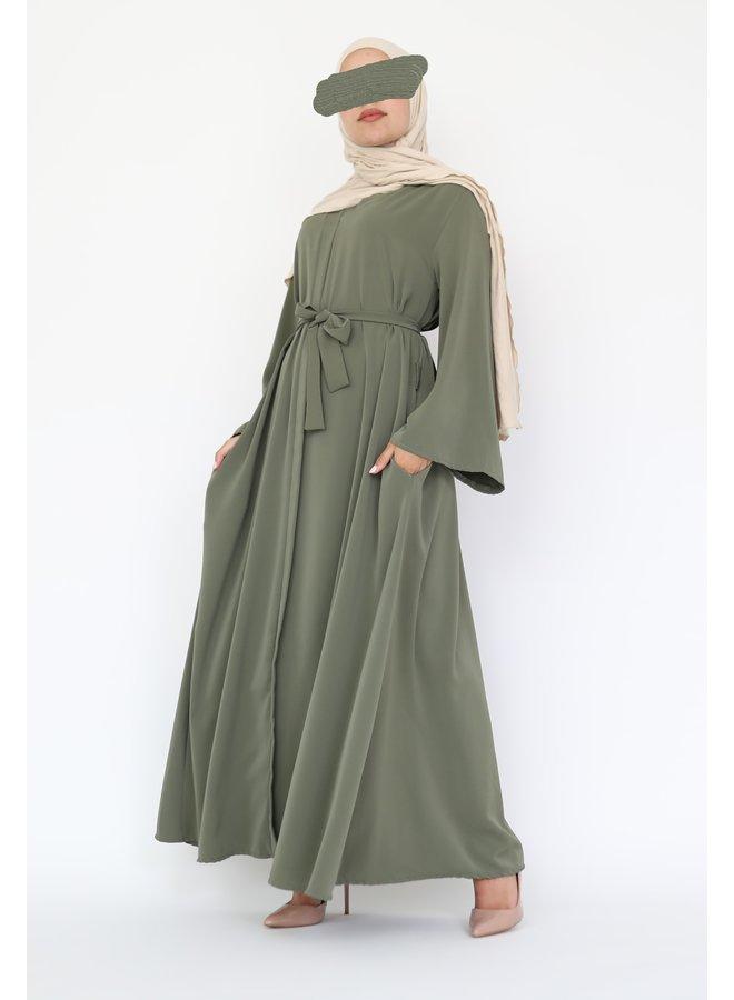 Abaya Zayna - green