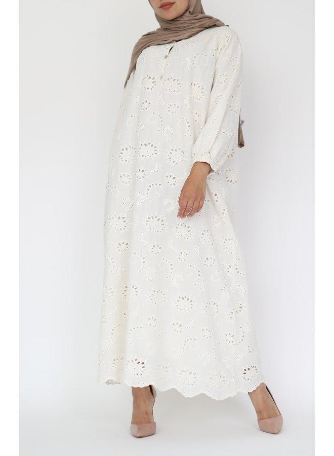 Cotton tunic - creme
