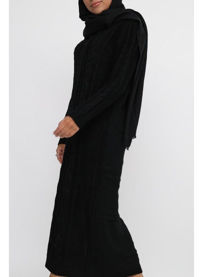 Kabeltrui -zwart