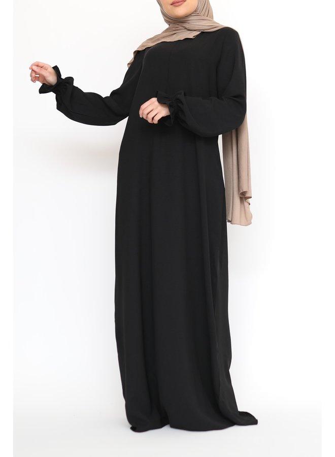 Pofmouw Abaya - Black