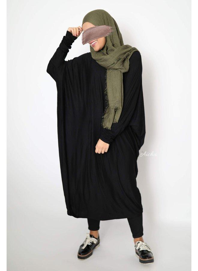 Farasha tunic - black
