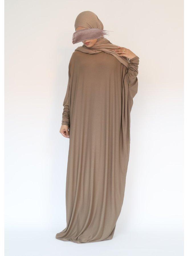 Farasha XL Abaya - taupe