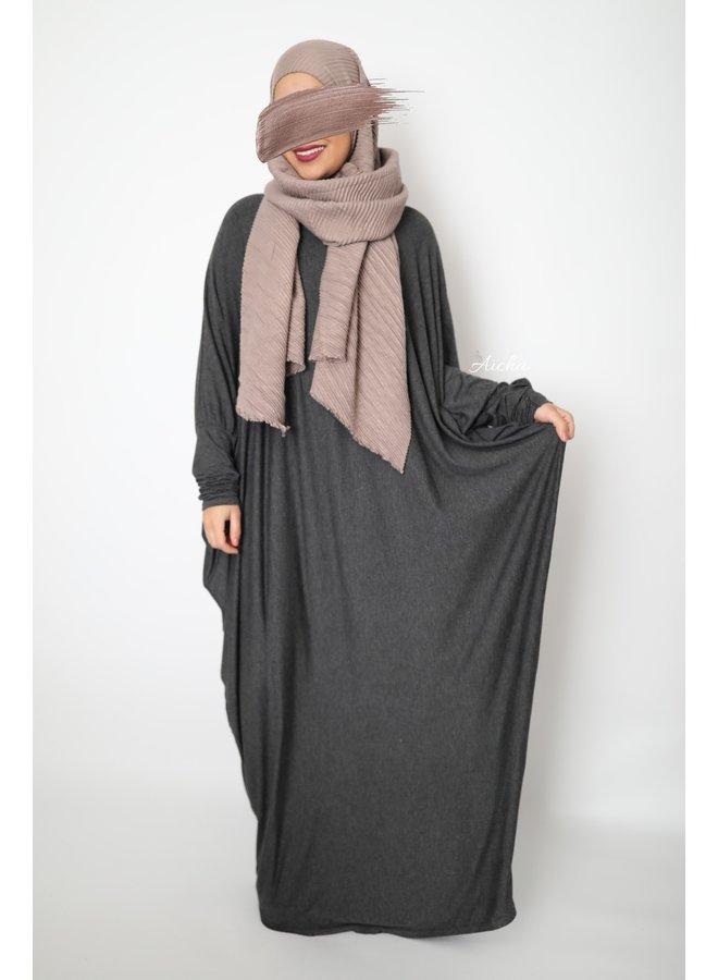 Farasha XL Abaya - dark gray
