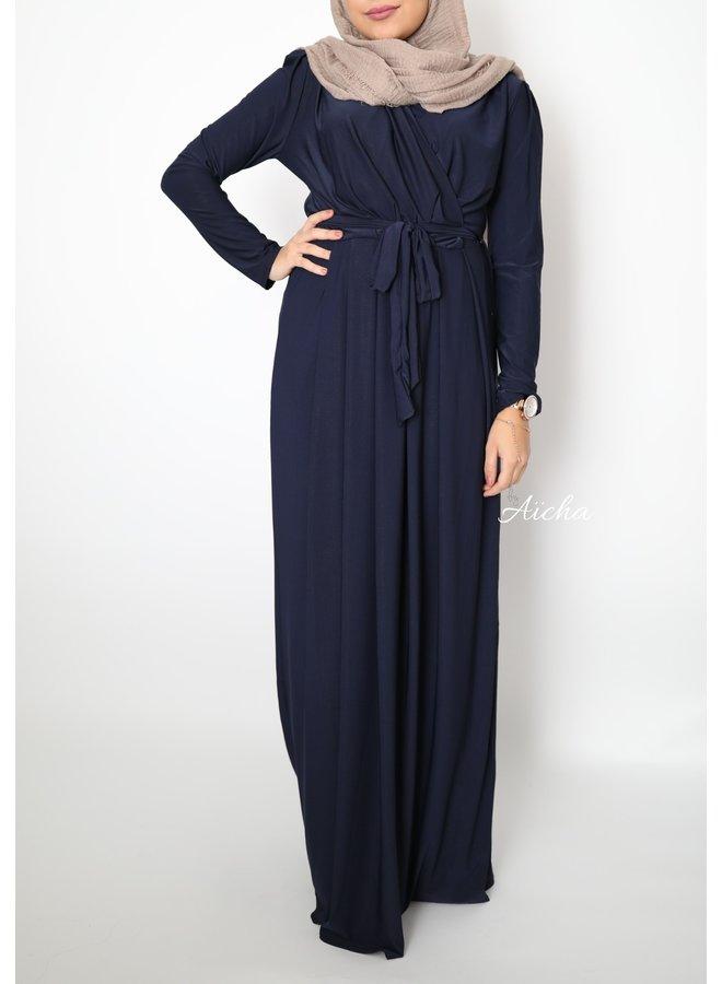 Classy maxi dress - navy