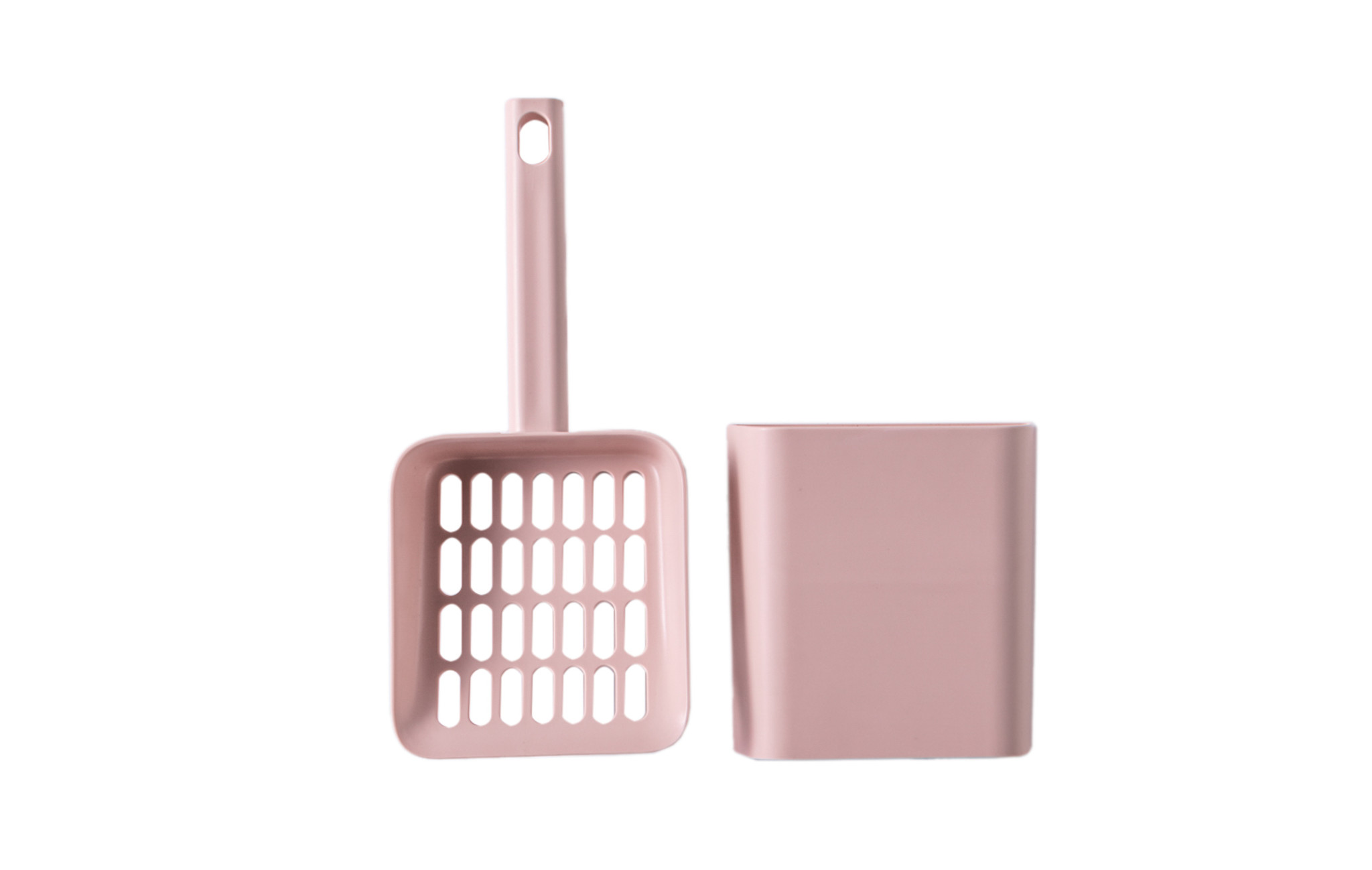 Hoopo® Scoop+Holder Pink