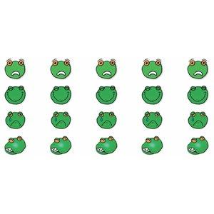 Feuille d'autocollants grenouille émotion HB 2
