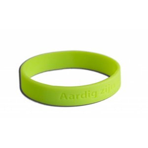 Bracelet 'être gentil c'est agréable' - Large