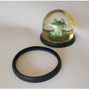 Silicone protection ring for frog meditation snowball