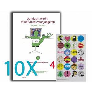 Cuaderno set de trabajo HB4 - 10x