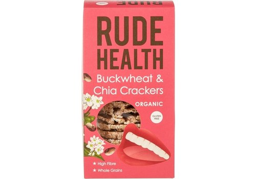Rude Health Boekweit en Chia Crackers