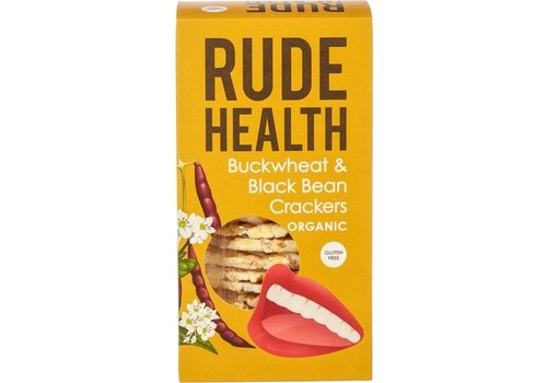 Rude Health Boekweit en Zwarte Bonen Crackers