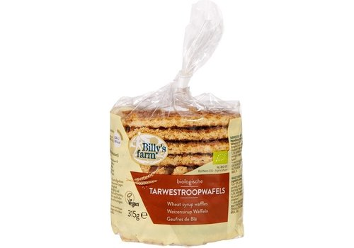 Billy's Farm Tarwestroopwafels 315 gram