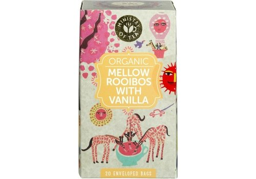 Ministry of Tea Mellow Rooibos Vanilla Thee