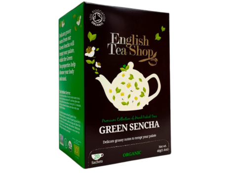 English Tea Shop Green Sencha Thee 20 zakjes