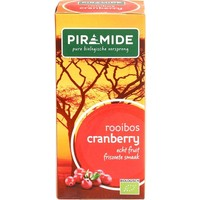 Thee Rooibos Cranberry 20 zakjes