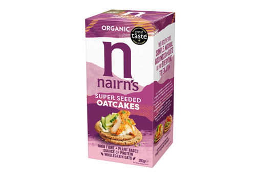 Nairns Superseeded Organic Oatcakes