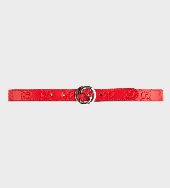 Interlocking Belt Red